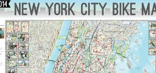 NYC bike map