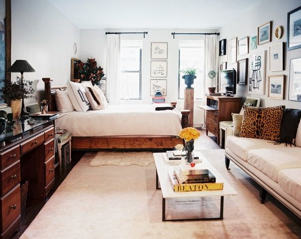 Photo from Pinterest Small space but so chic!