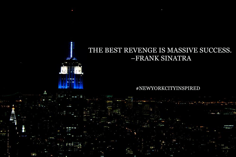 Photo: NYC inspiration - Frank Sinatra quote - New York City ...