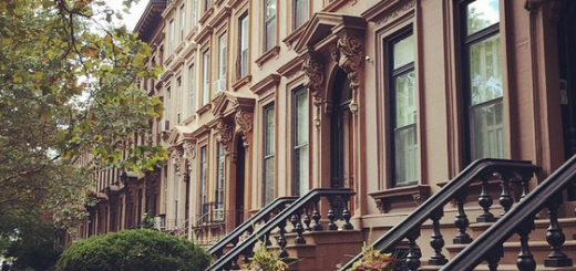Brooklyn Brownstones, NYC
