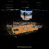 My first Brooklyn Nets game