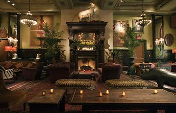 The Jane Hotel lounge, NYC