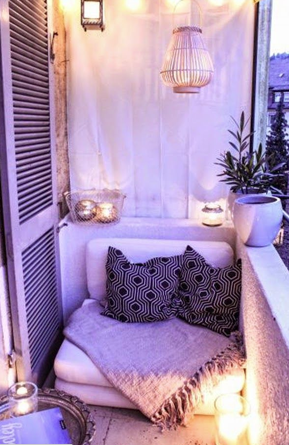cozy outside space