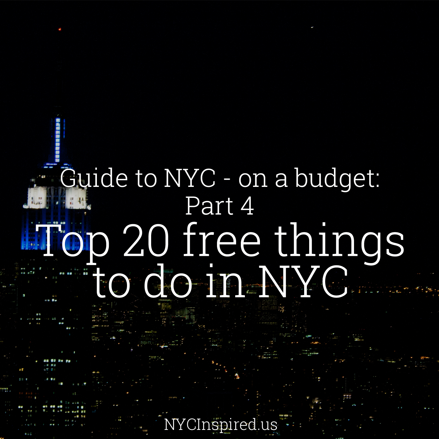 guidetonyctop20thingstodoforfree