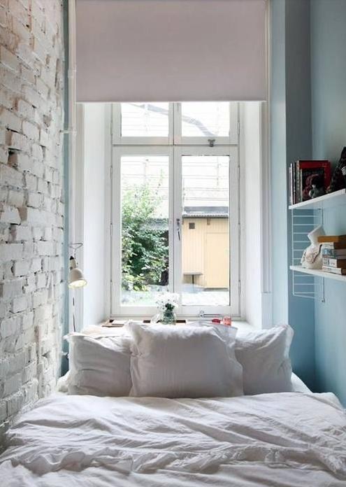 really tiny bedroom