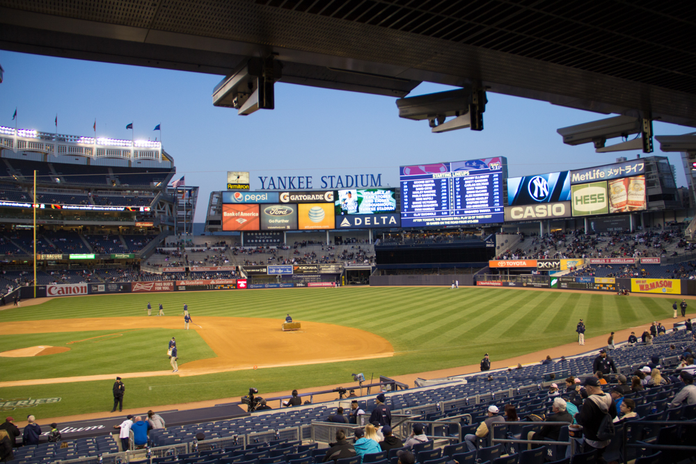 Photo I took April 12, 2015 at Yankee Stadium!