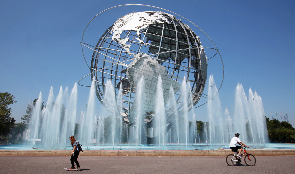 Unisphere, Flushing Meadows- Corona Park. Photo Courtesy The New York Times.