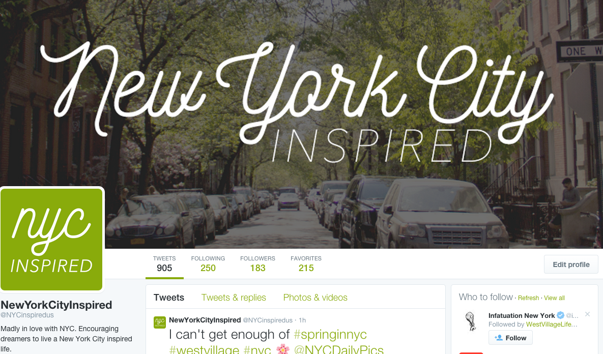 nyc inspired twitter 1