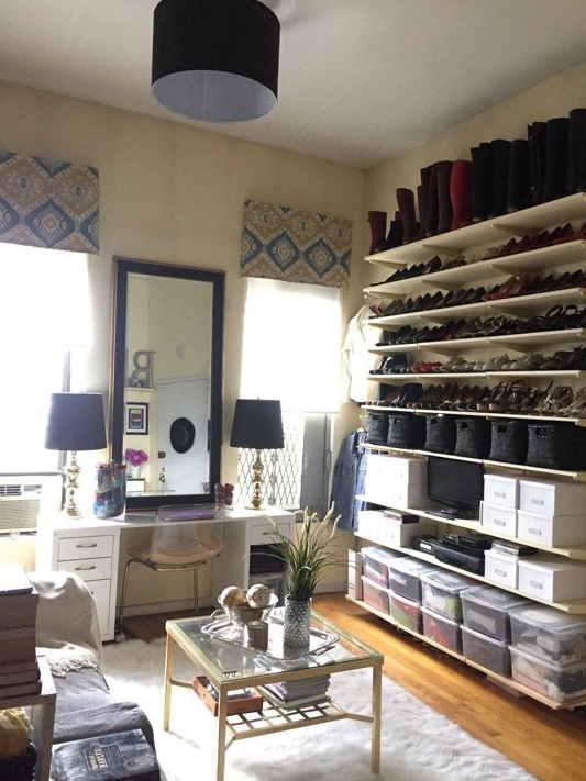 smallspace shoe storage