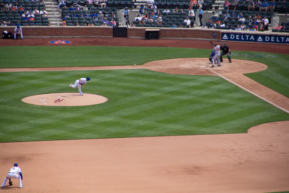 Citi Field, Mets game