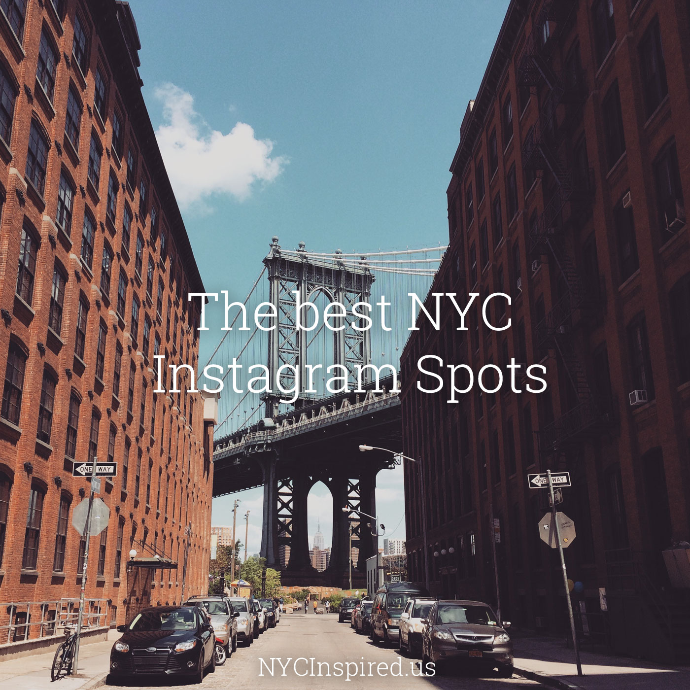 The best nyc instagram spots week 2 new york city inspired for The best of nyc