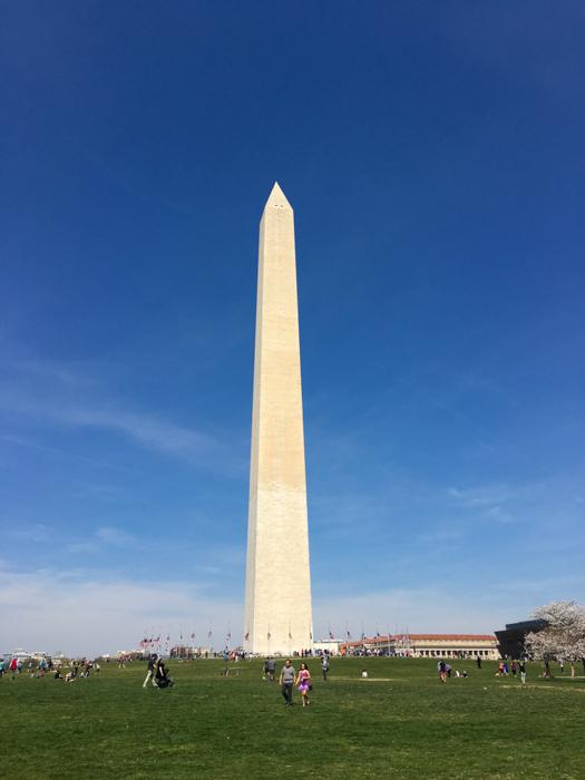 The Washington Monument, Washington DC, March 2016