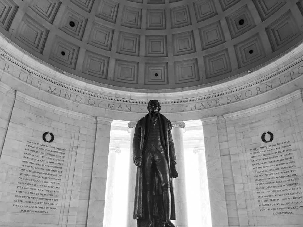 Jefferson Monument, March 2016