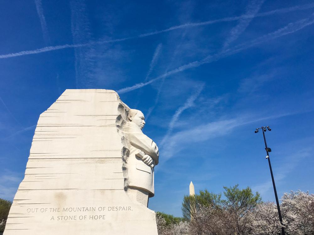 MLK Jr. Memorial, Washington DC, March 2016