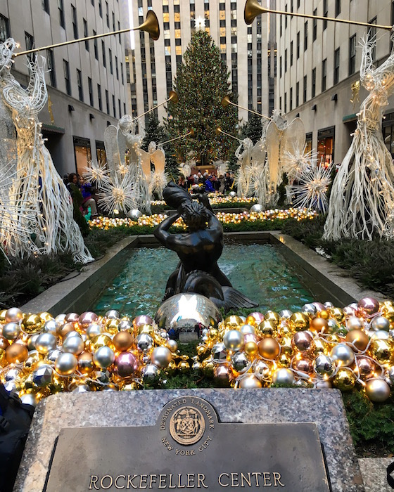 Rockefeller Center Christmas Tree, NYC