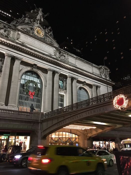 Grand Central Terminal in NYC at Christmas