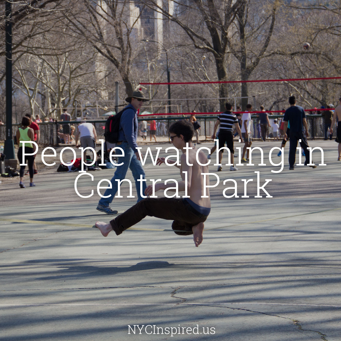 Central Park People: People Watching In Central Park