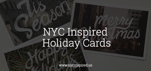NYC Inspired Holiday Cards